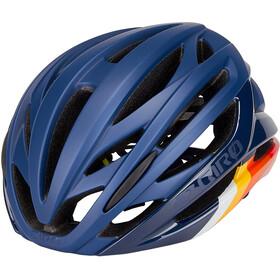 Giro Syntax MIPS Kask rowerowy, niebieski/kolorowy
